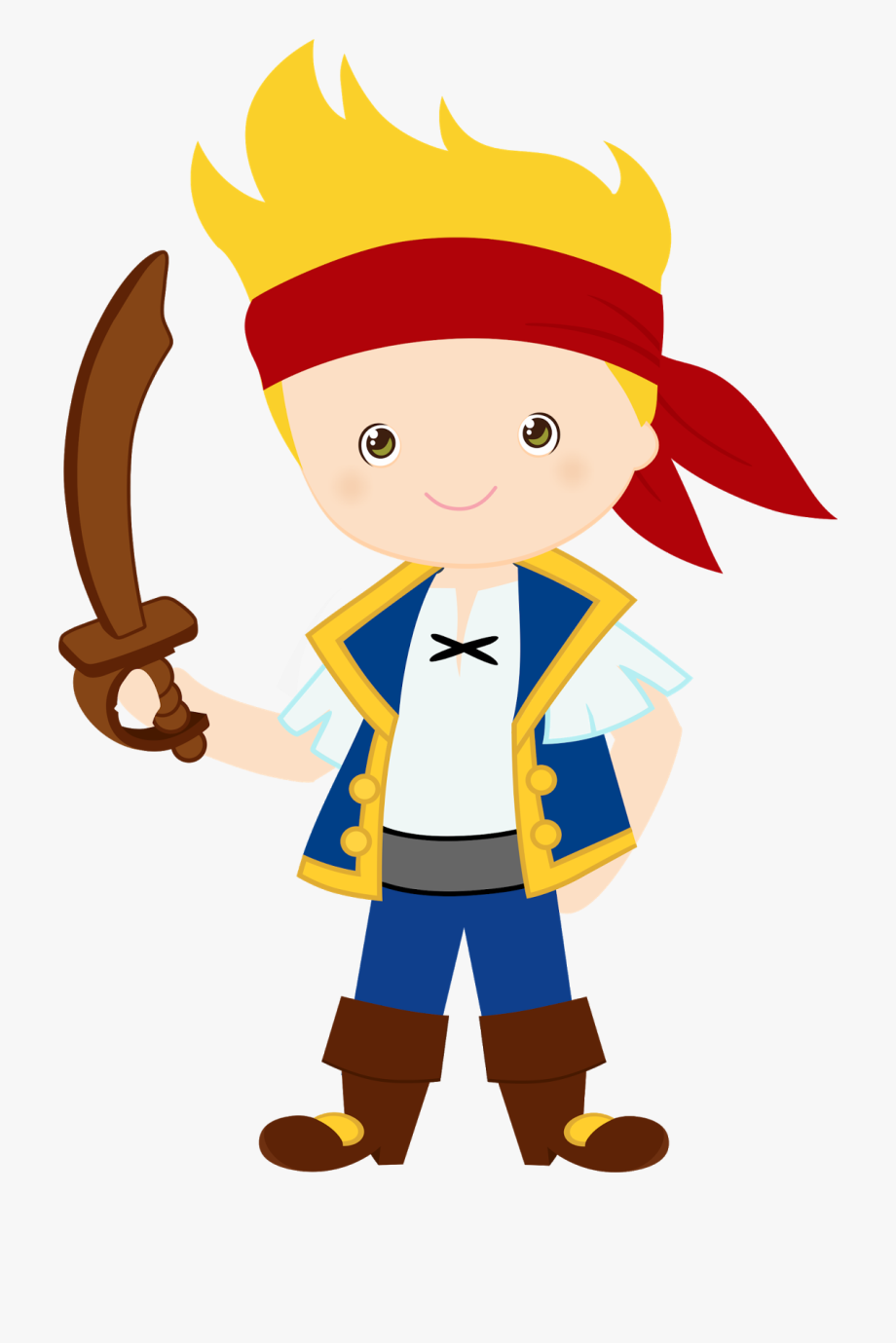 Pirate Clipart For Kids.