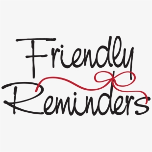 Free Friendly Reminder Clipart Free Cliparts, Silhouettes, Cartoons.