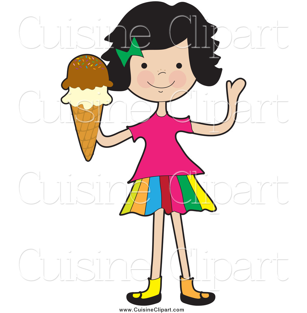Friendly Woman Clipart.