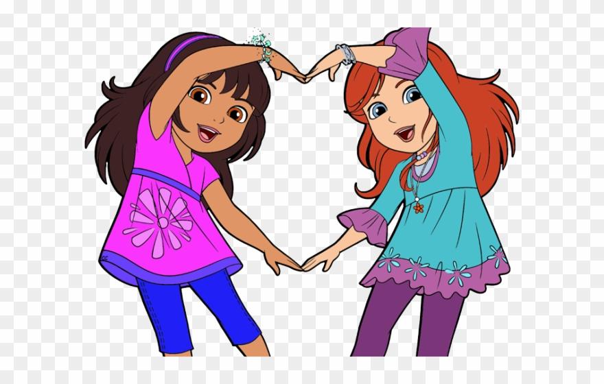 Clipart Kids Friendship.