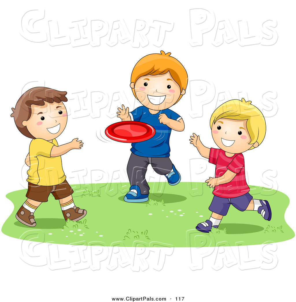 Boys Friendship Clipart.