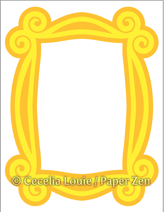 Welcome to Paper Zen ~ Cecelia Louie: Monica's Picture Frame from.
