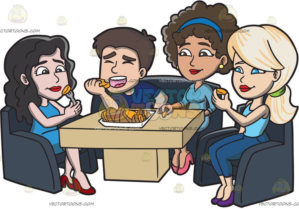 Friends eating clipart 4 » Clipart Portal.
