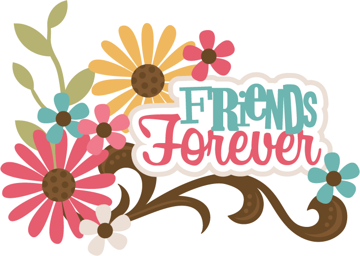 Best Friends Forever Clipart.