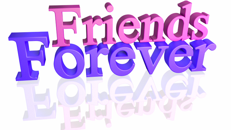 Friends forever clip art.