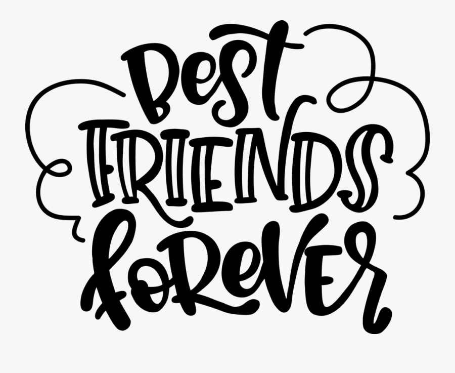 Best Friends Forever , Free Transparent Clipart.