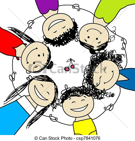 Group of friends having fun clipart 6 » Clipart Station.