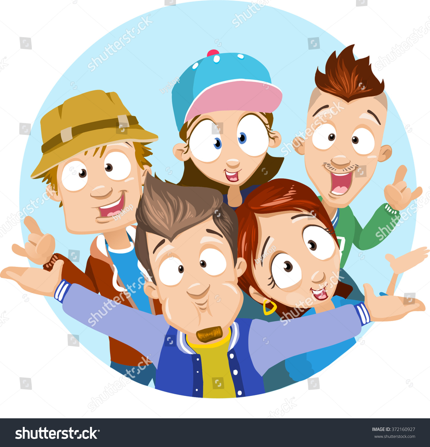 Group of friends having fun clipart 8 » Clipart Station.