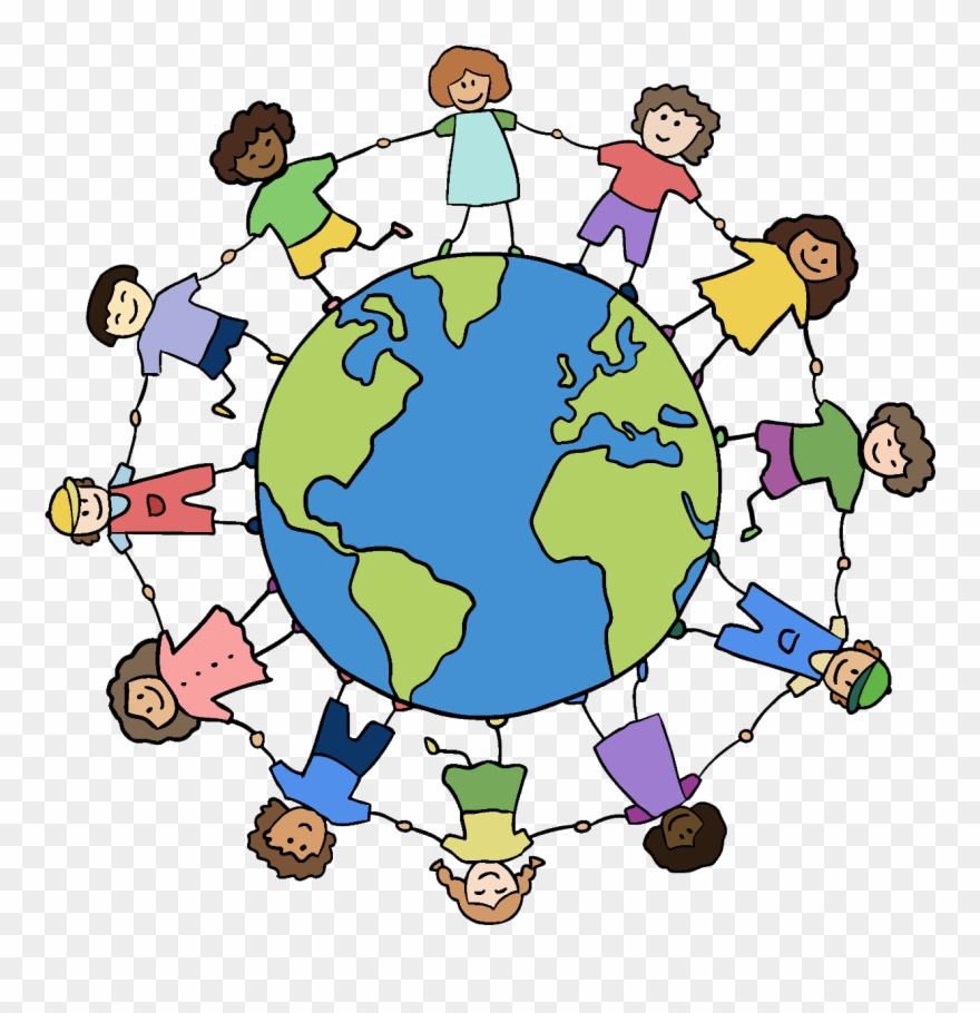 Clipart World Holding Hand Around World.
