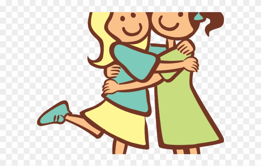 Hug Clipart Two Friend.