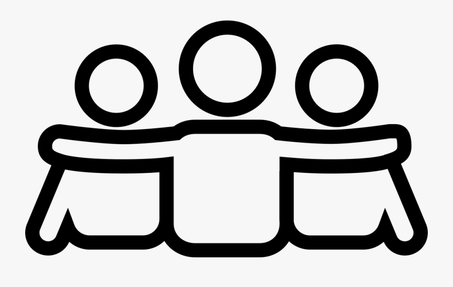 Friends Icon Png White , Free Transparent Clipart.