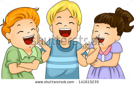 Kids Laughing Stock Images, Royalty.