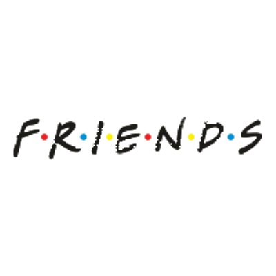 Friends Logo transparent PNG.