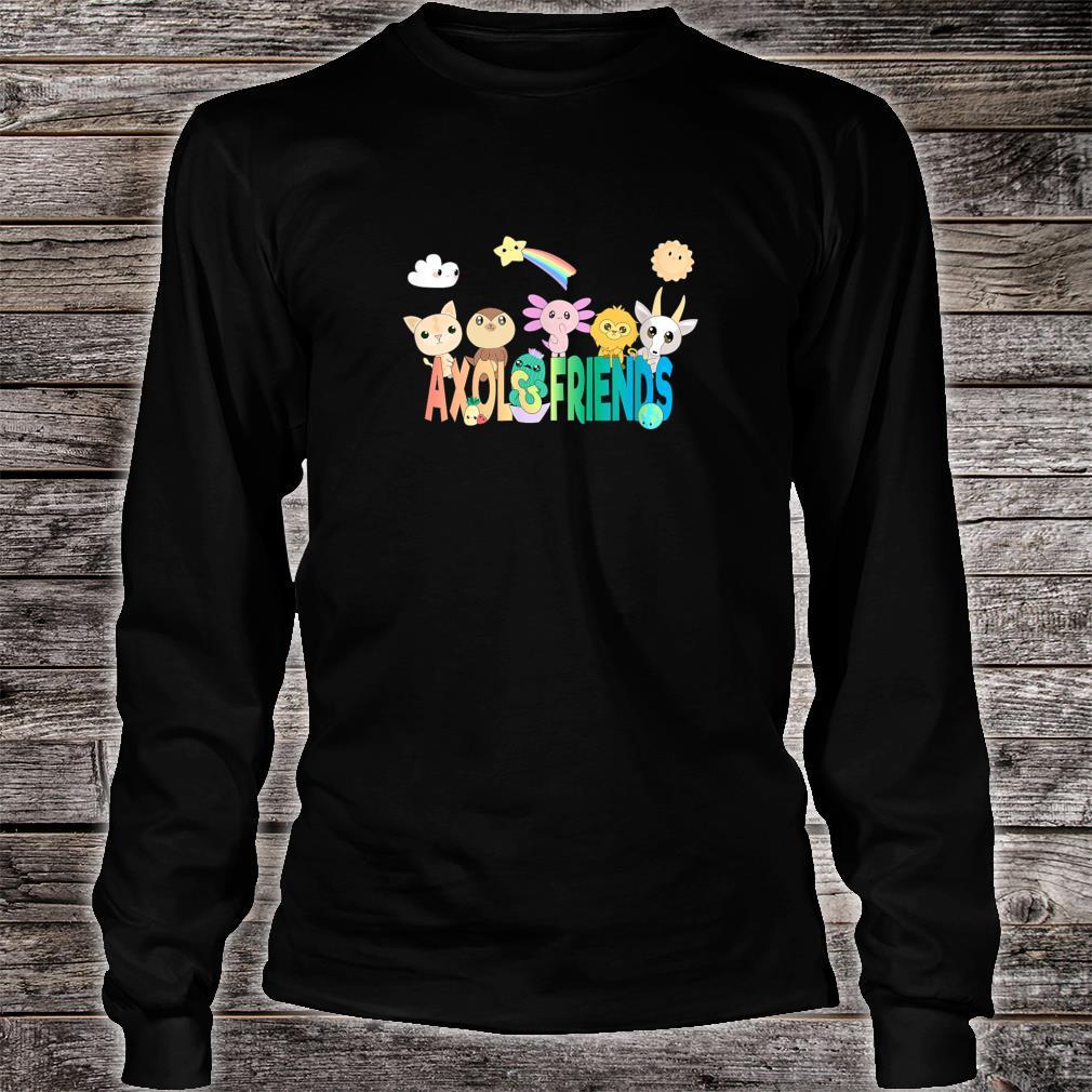 Official Axol & Friends Logo Shirt, hoodie, tank top and sweater.