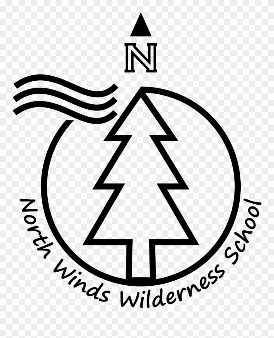 Transparent Logo North Winds Wilderness School.