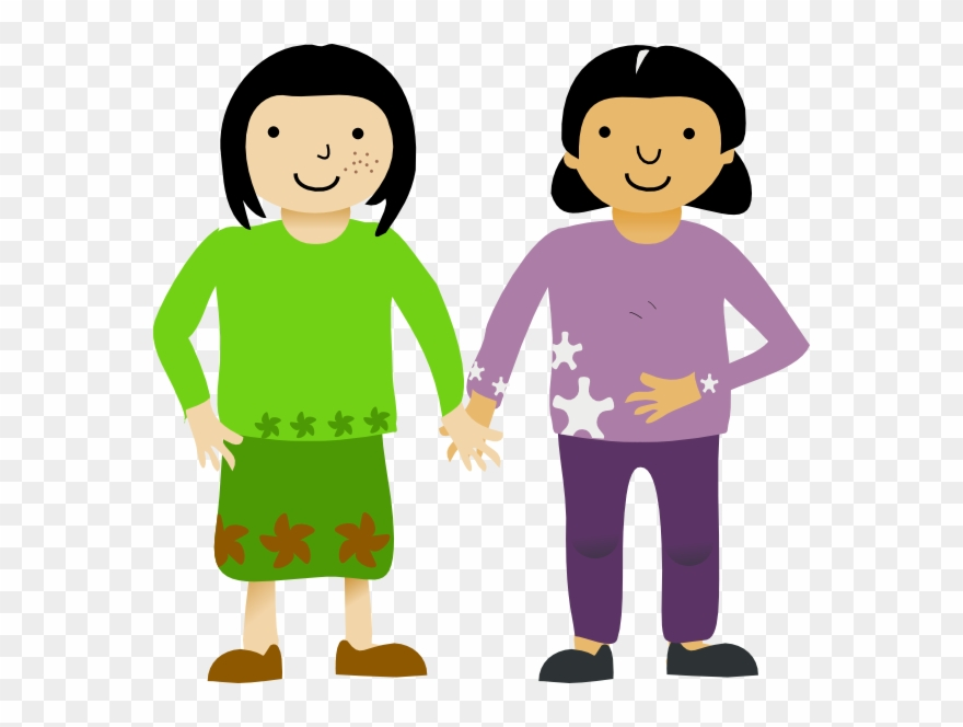 Clipart Of Friend, Friends And Comparative.