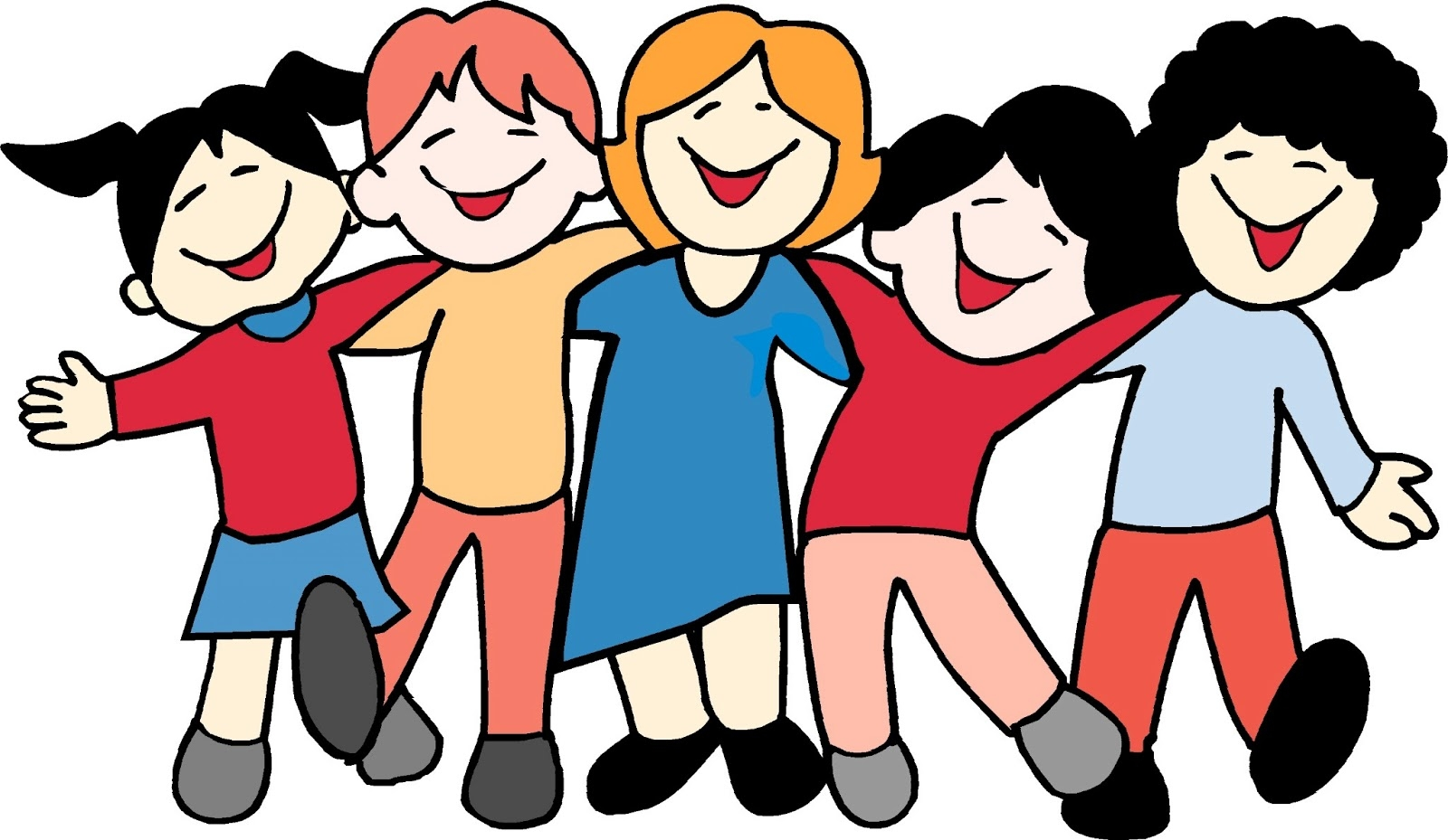 Go Out With Friends Clipart.