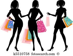 Shopping friends Illustrations and Clip Art. 312 shopping friends.