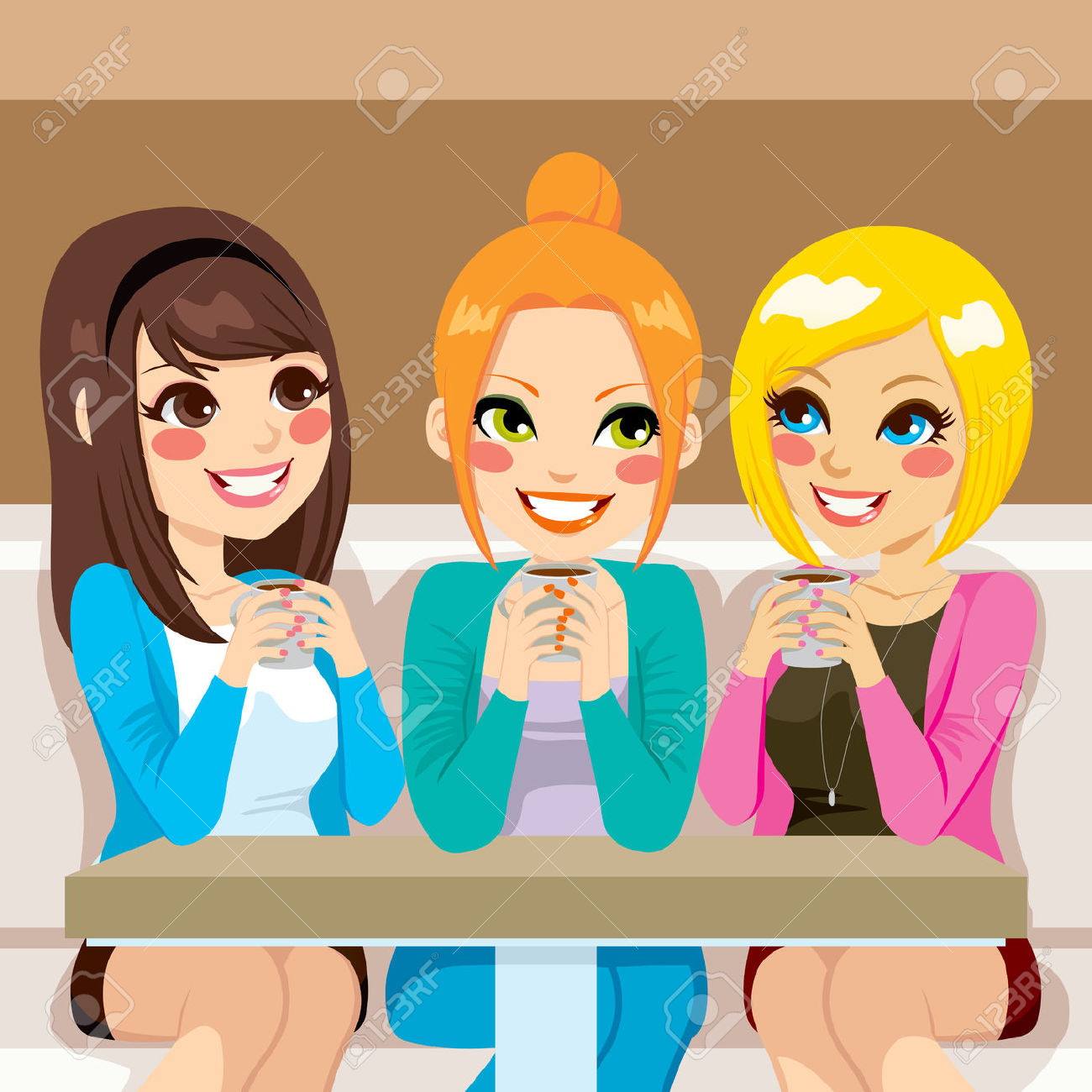 19,217 Friends Talking Stock Vector Illustration And Royalty Free.
