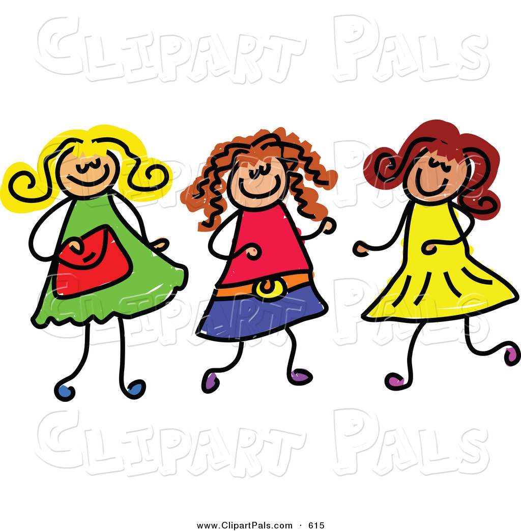Friends Together Clipart#2032683.