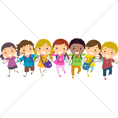 Gallery For > Friends Walking Together Clipart.