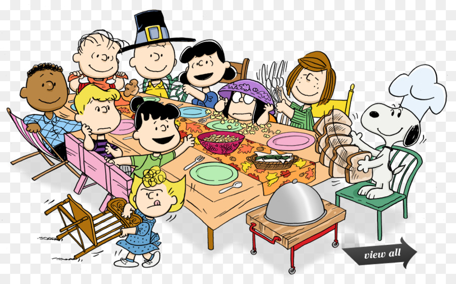 Thanksgiving Snoopy clipart.