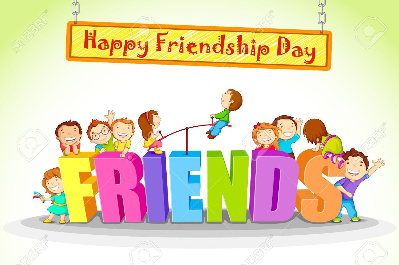 Friendship day clipart 3 » Clipart Station.