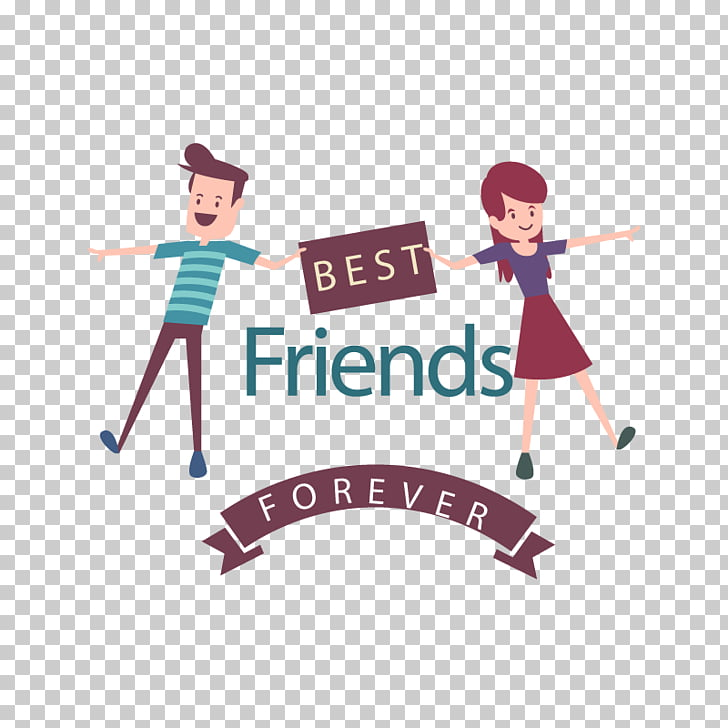 Friendship Day Love, we are friends, best friends forever.