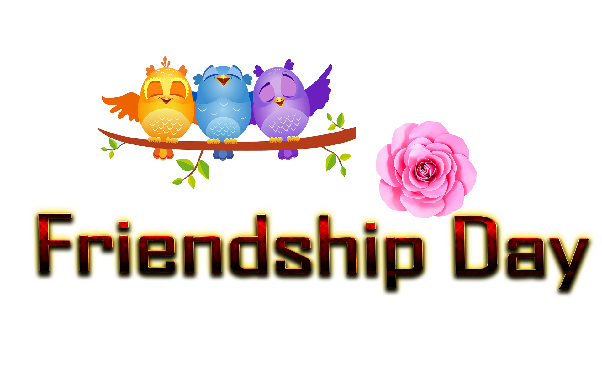 Friendship Day PNG Transparent Images Free Download.