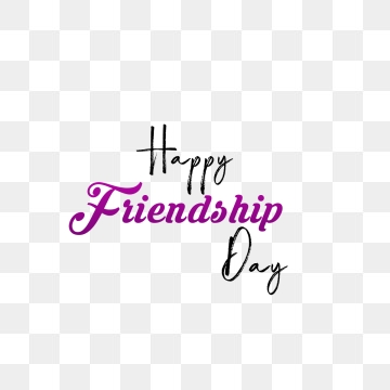 Friendship Day PNG Images.