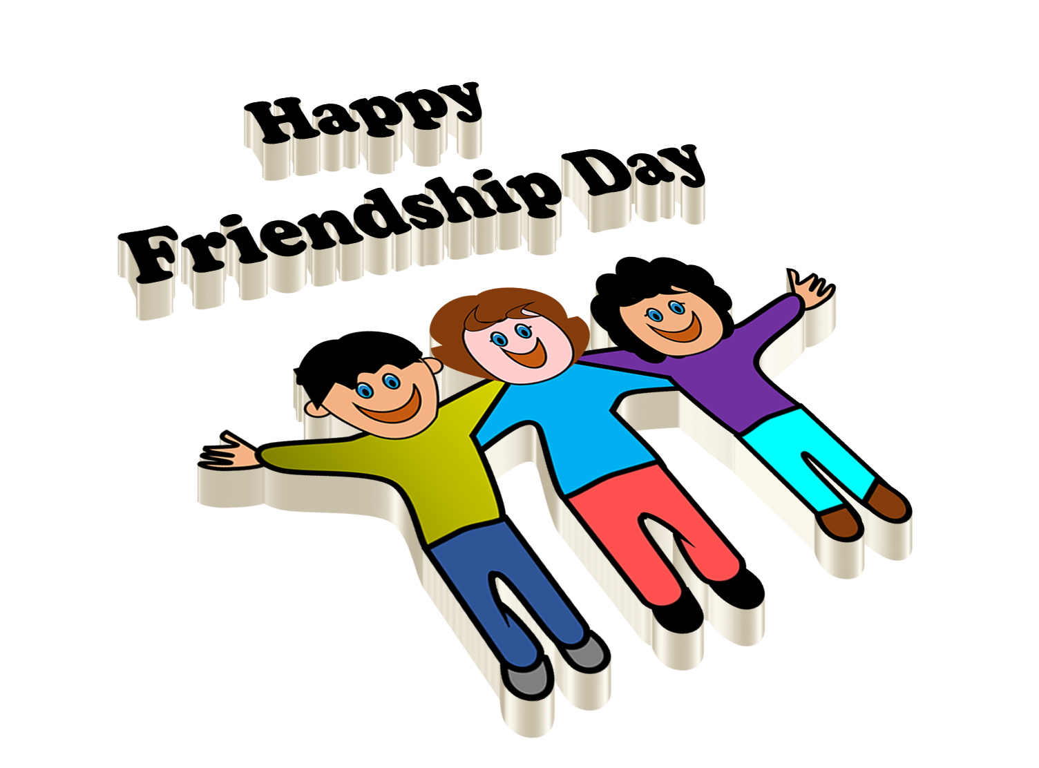 Free PNG Happy Friendship Day.