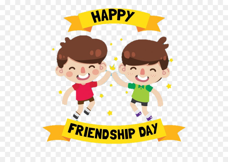 Friendship Day Child clipart.