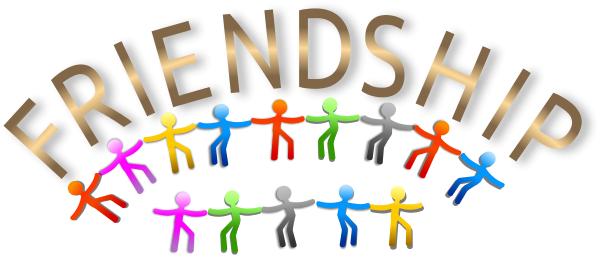 Friendship clip art download.