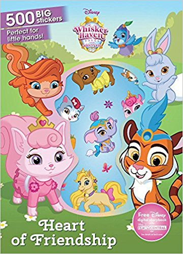 Heart of Friendship: 500 Big Stickers (Disney Whisker Haven Tales.