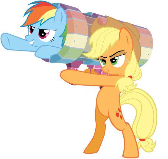 My Little Pony Rainbow Dash.