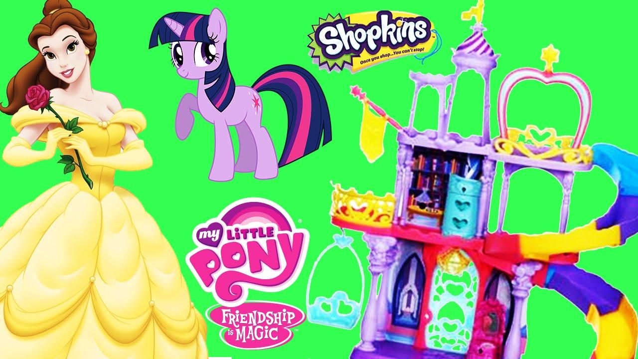 MLP Princess Twilight Sparkle's Friendship Rainbow Kingdom Disney.
