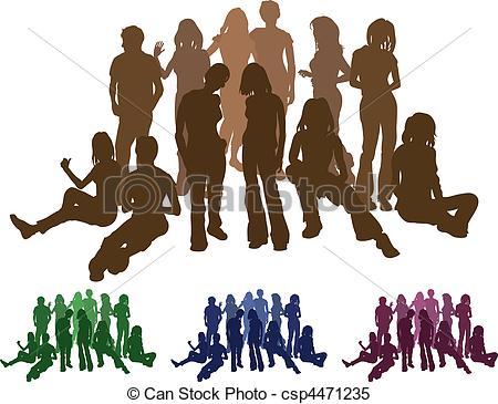 Friends silhouette Vector Clip Art EPS Images. 18,332 Friends.