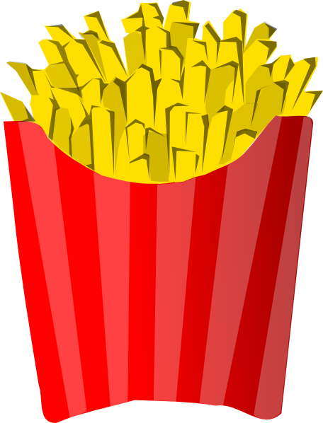 French Fries Clip Art at Clipart library.