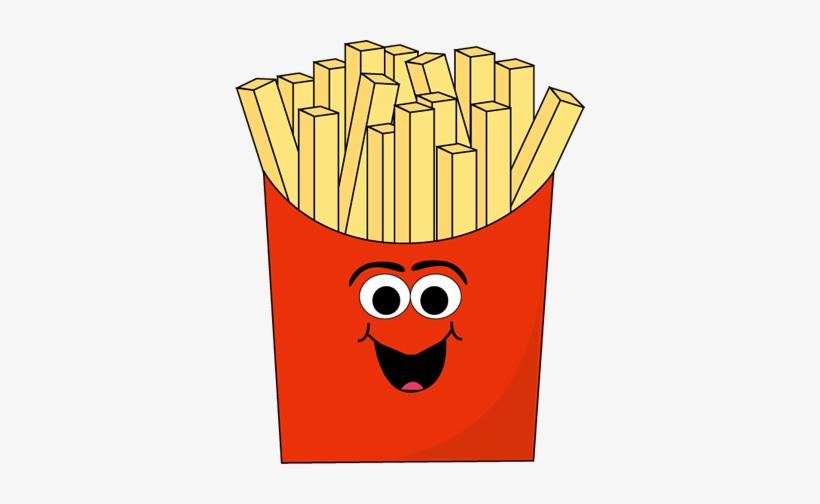 Cartoon French Fries.
