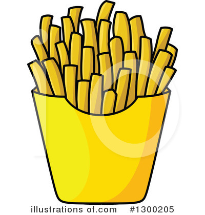 French Fries Clipart #1300205.