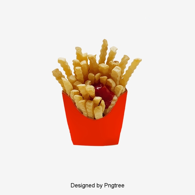 French Fries PNG Images.