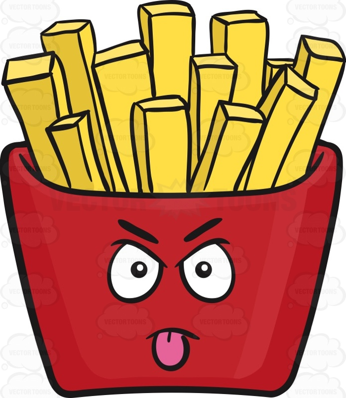 French Fry Clip Art.