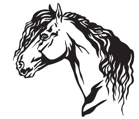 130 Friesian Stock Vector Illustration And Royalty Free Friesian Clipart.