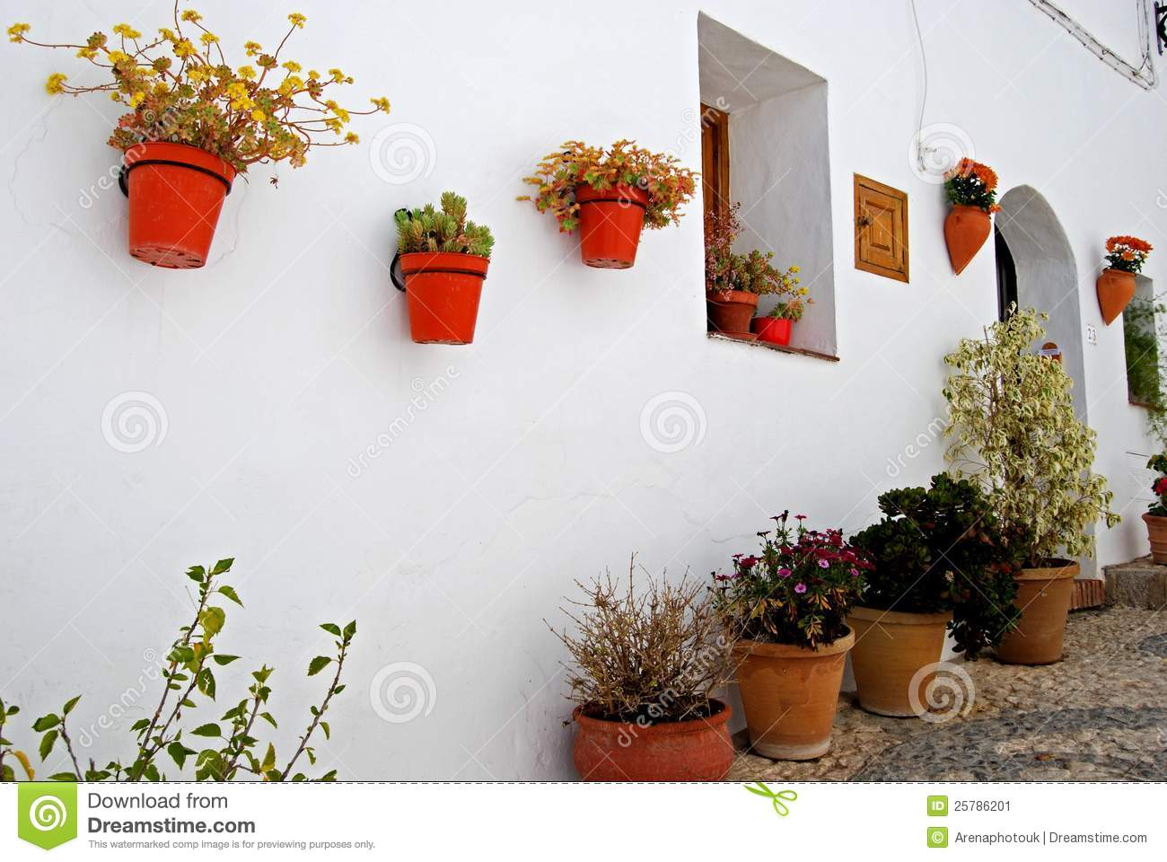 Frigiliana, Spain Stock Photo.