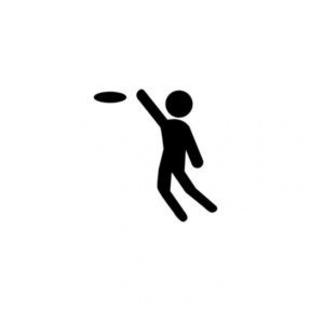 Frisbee clipart #10