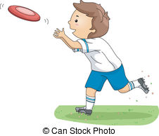 Frisbee clipart #13