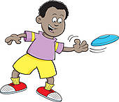 Frisbee clipart #16