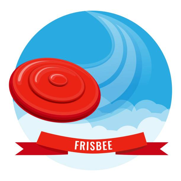 Best Frisbee Illustrations, Royalty.