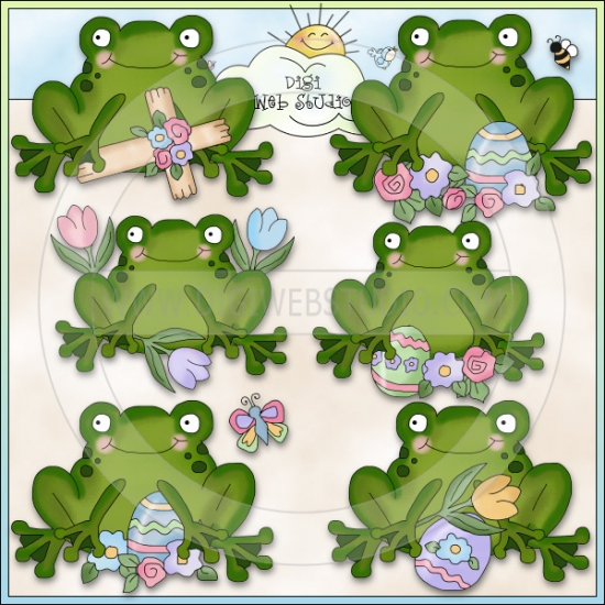 Frisky Frogs Easter 1.