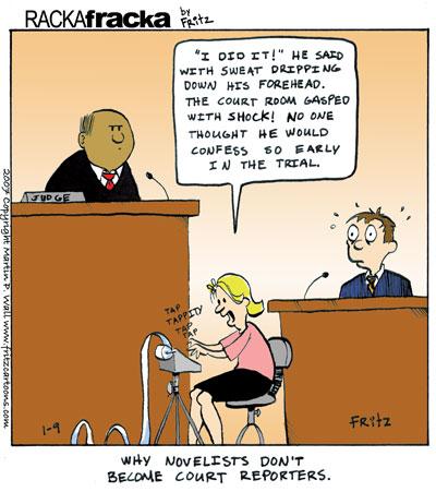 Court Reporters Rackafracka By Fritz #wB1kOv.